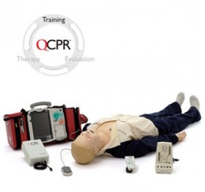 Resusci Anne Q-CPR/D Trainingssystem // Quelle: Laerdal Medical