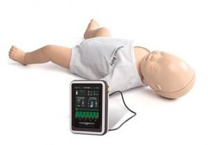 Resusci Baby Q-CPR // Quelle: Laerdal Medical